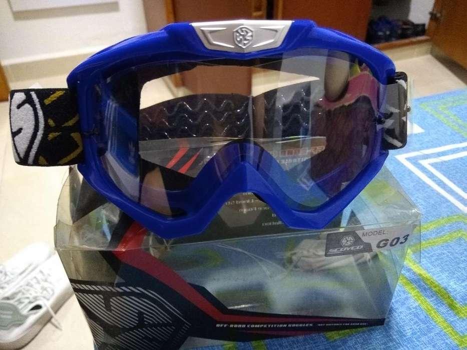 Gafas Goggles Motocross Scoyco