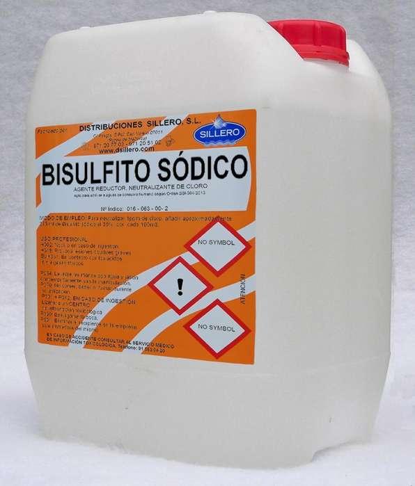 Venta de Bisulfito Al 35% Liquido