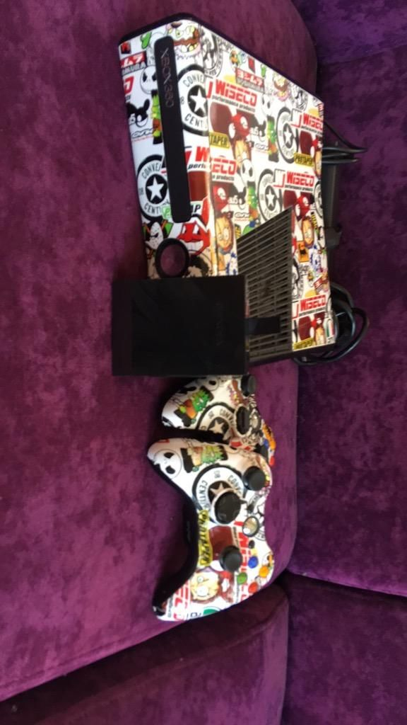 Xbox 360 Personalizado con Disco Duro