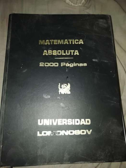 Vendo Libro de Matemáticas