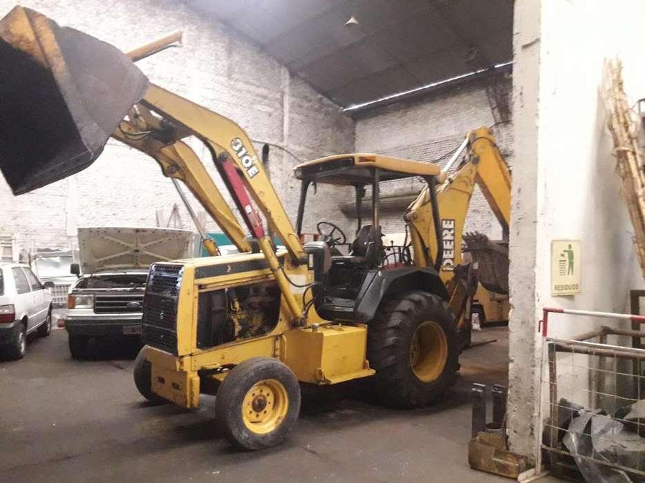 Retro Excavadora John Deere 310E
