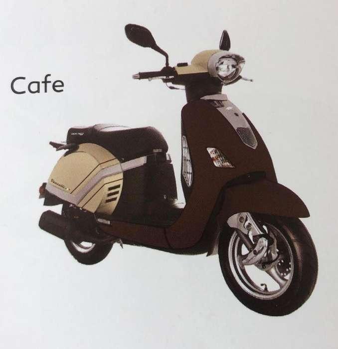 Moto tipo Vespa Marca Axxo 150cc