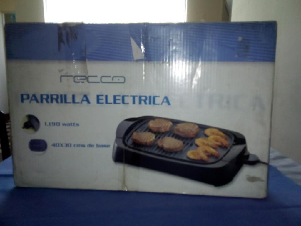 Parrilla eléctrica RECCO nueva