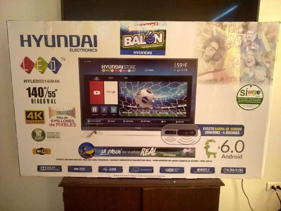 Vendo Hermoso televisor HYUNDAI 55