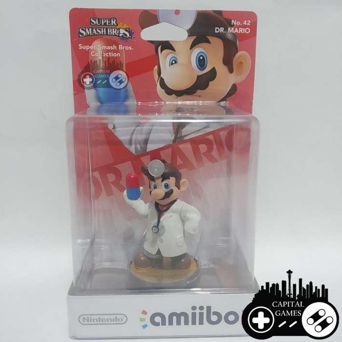 Dr. Mario Super Smash Bros amiibo