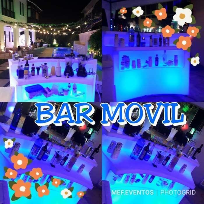 Mef.eventos Alquiler de Bar Movil Led