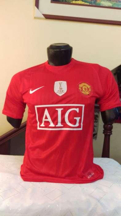 Camiseta Retro Manchester United Original