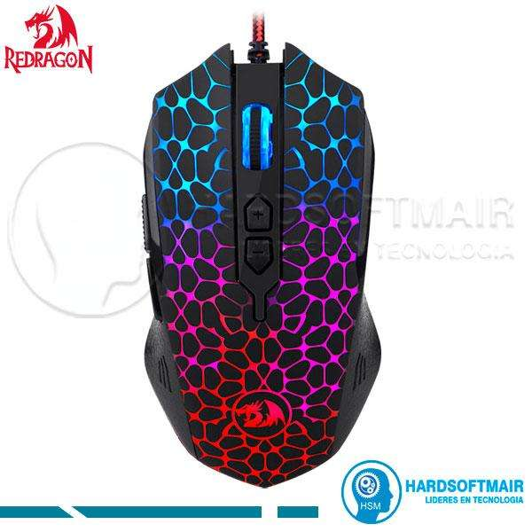 MOUSE GAMER REDRAGON M716 INQUISITOR DPI 10000 LED RGB