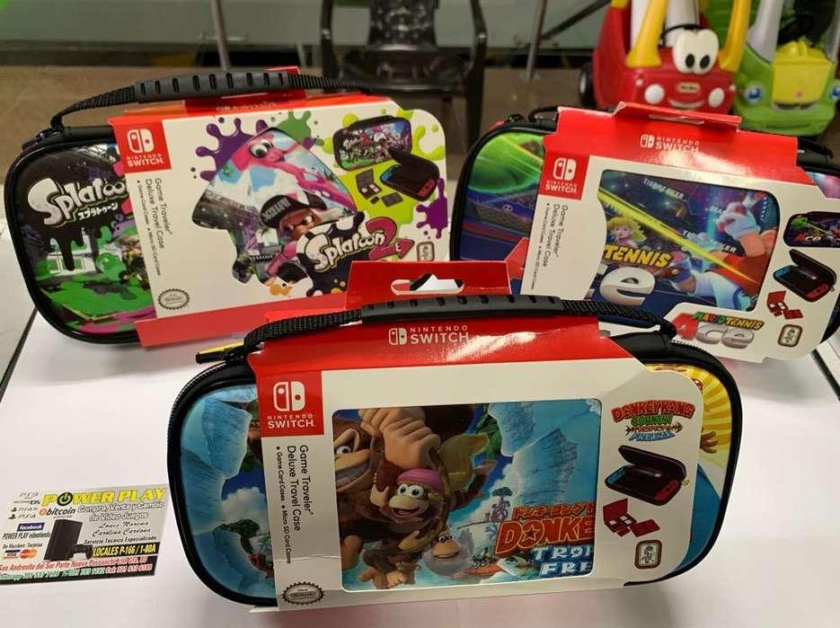 Maletas para Nintendo Switch