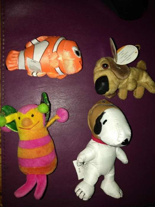 Peluches Mcdonalds The Dog Snoopy Varios