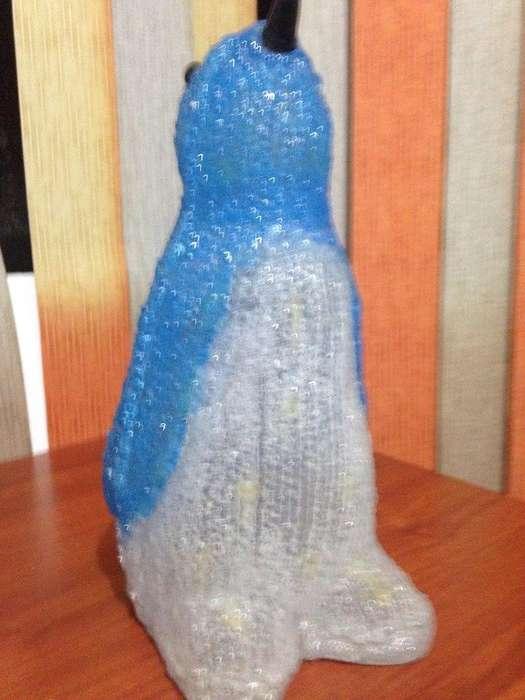 Pingüino Decorativo Azul