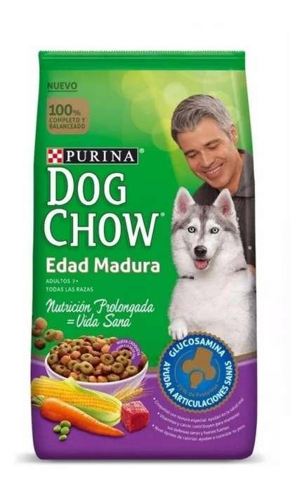 DOG CHOW ADULTOS MAYORES 7 21 KG
