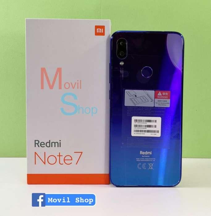 Xiaomi Redmi Note 7 Camara 48MP (SOLO EFECTIVO)