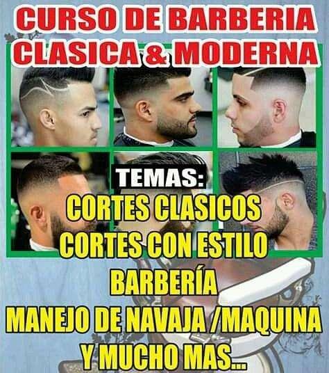 curso de peluqueria y barberia inf: 0959620778