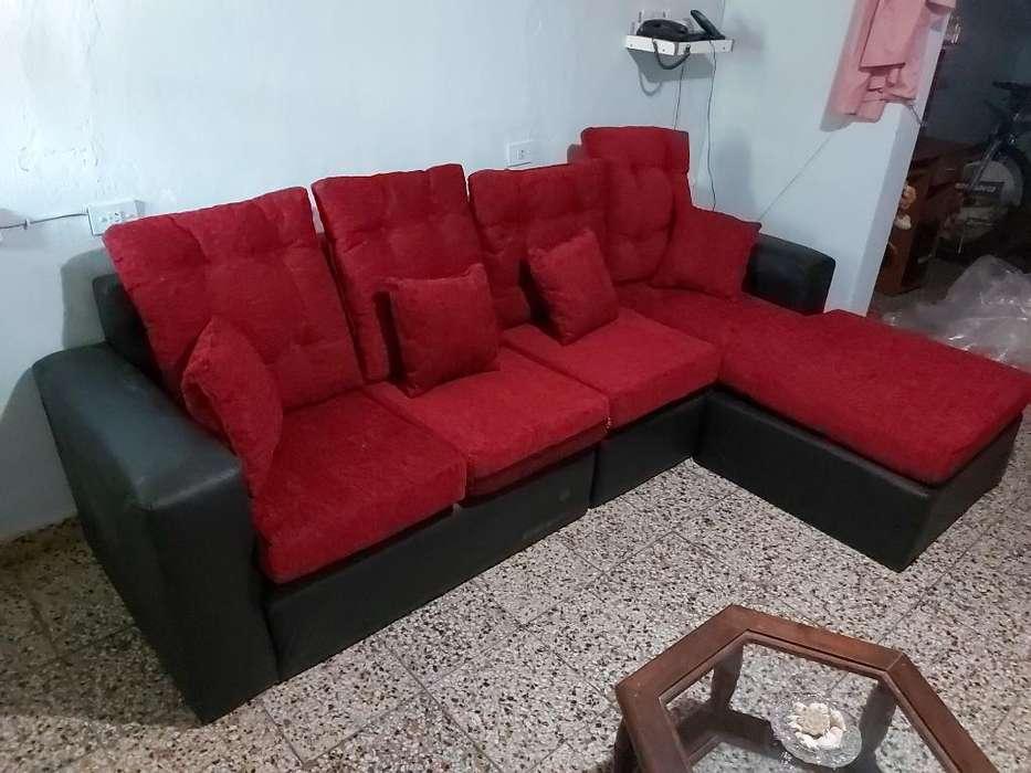 <strong>sofa</strong> Rojo Moderno Llevo Domicilio 1 Pago