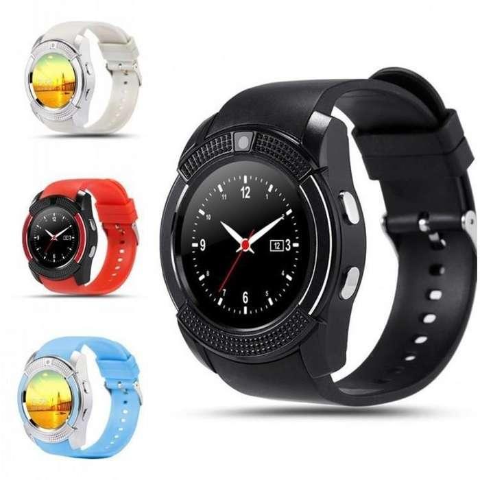 Reloj Smartwatch V8 Bluetooth Camara Memoria