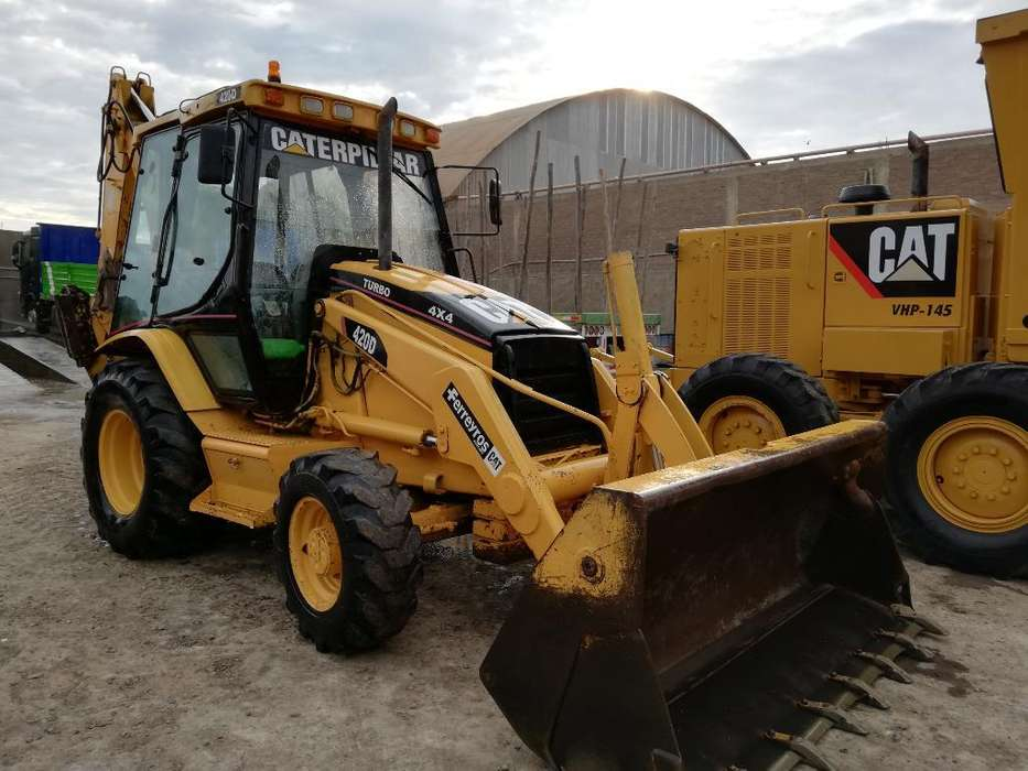 Retroexcavadora Cat 420d