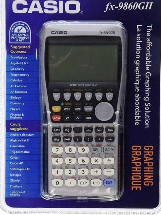 <strong>calculadora</strong> Casio fx-9860GII
