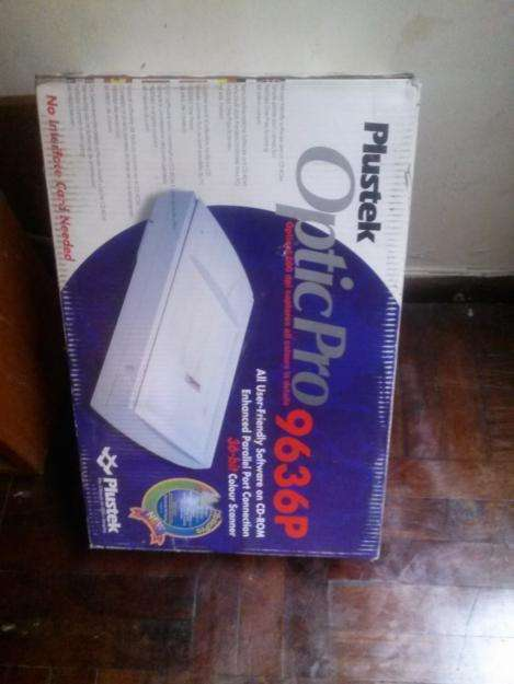 Scanner Plustek 9636P