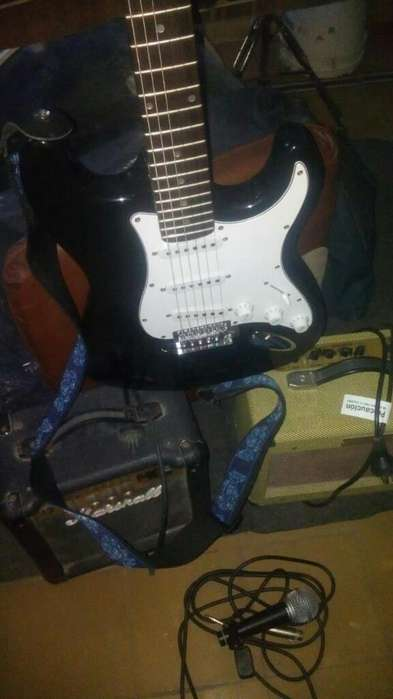 Guitarra Mas Amplificador
