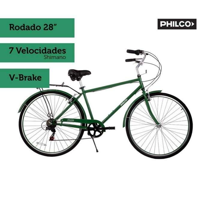 Bicicleta Urbana Philco Toscana 7 V