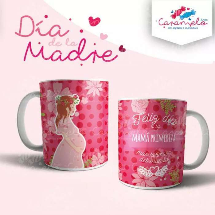 Pack Plantillas para Mugs Mamá