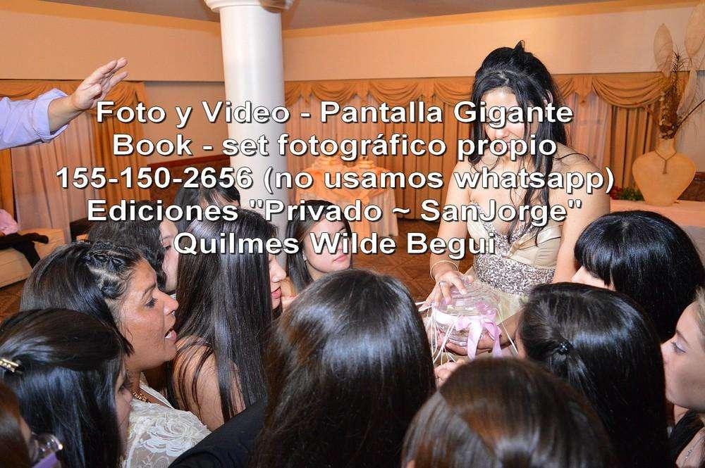 Fotografia Y Video Quilmes 15 Años Bodas Pantalla Te20710404