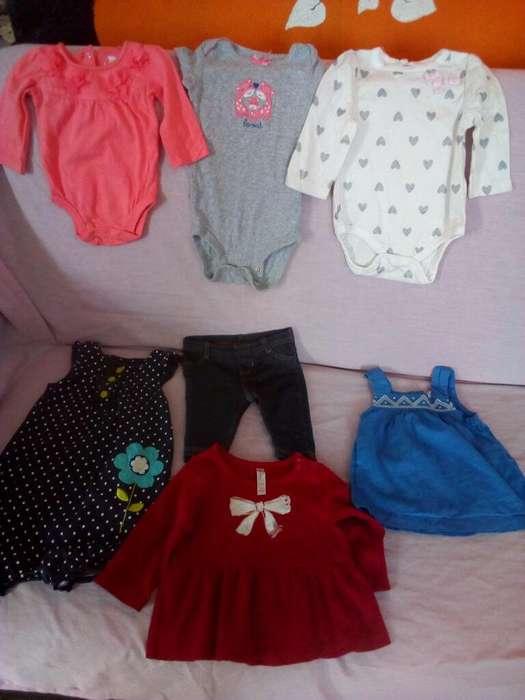<strong>ropa</strong> de Niña de 0a 6meces en Buen Estado