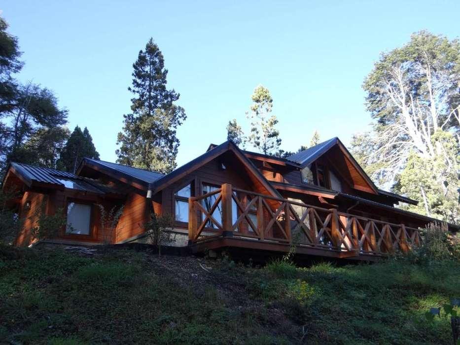 zz45 - Cabaña para 2 a 6 personas con cochera en Villa La Angostura
