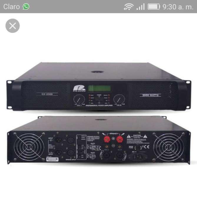 Amplificador de Sonido Pro Audio.nueva G