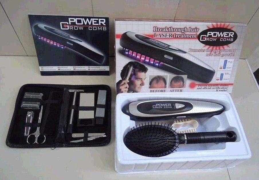 Power Grow Comb Cepillo Laser Para Caida Del Cabello