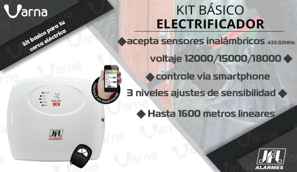 Electrificador RESIDENCIAL para cerca eléctrica.