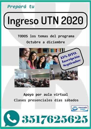 Ingreso UTN 2020