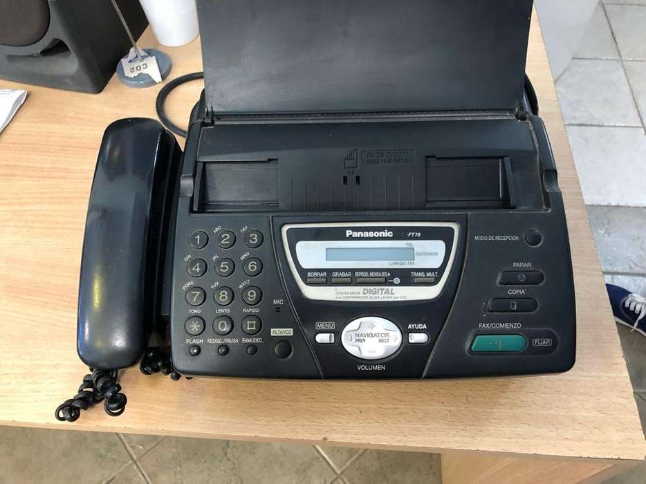 Fax Panasonic Mod Ft 78
