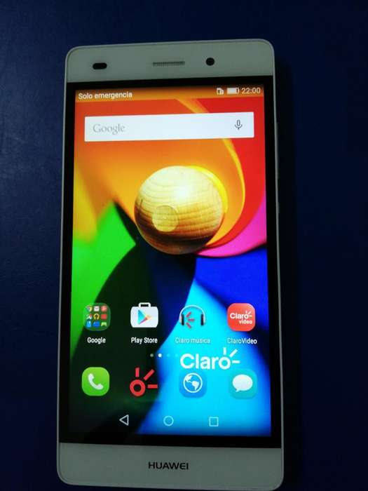 Celular Huawei P8 Lite sin Wifi.