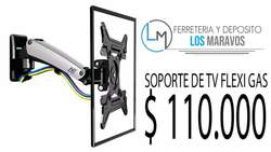 SOPORTE DE TV FLEXI GAS