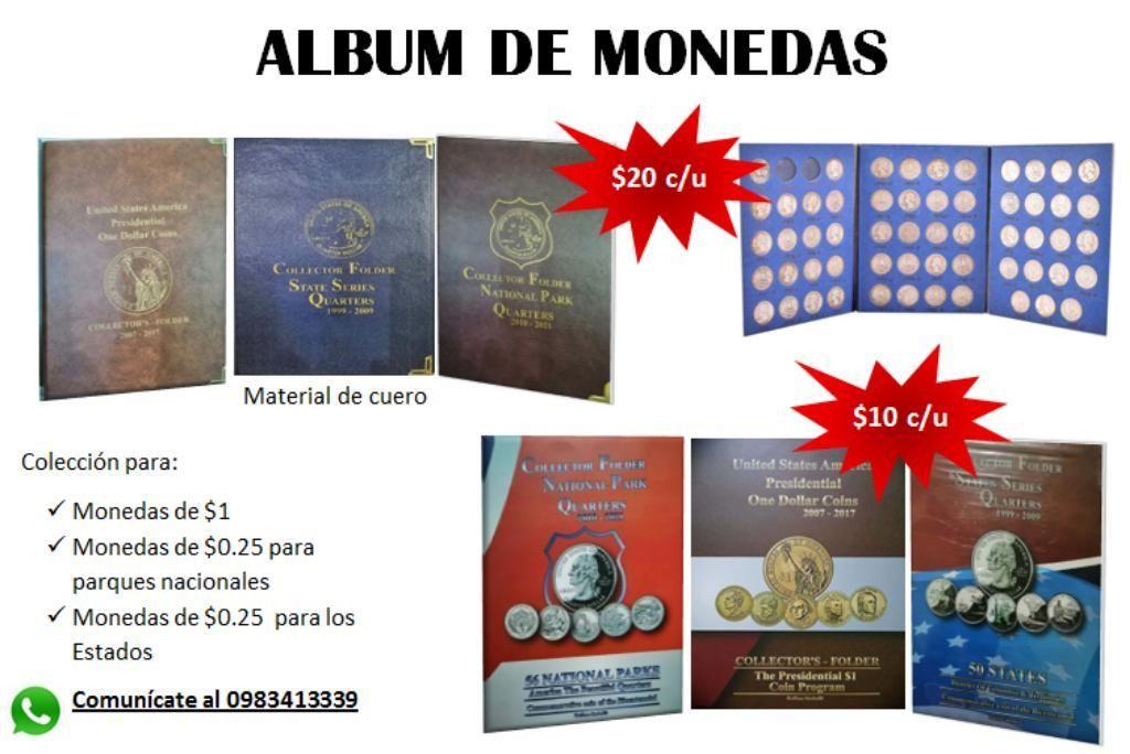 Álbum para Coleccionar Monedas