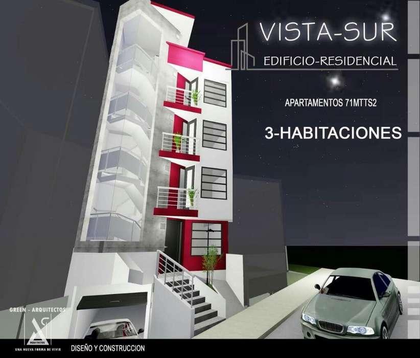 Proyecto sobre <strong>plano</strong>s. Vista Sur