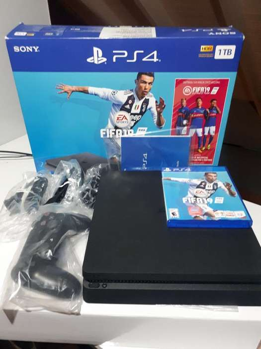 Ps4 Slim 1tb Edition Fifa19