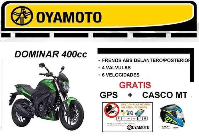 Moto Dominar 400cc Gratis GPS <strong>casco</strong> MT