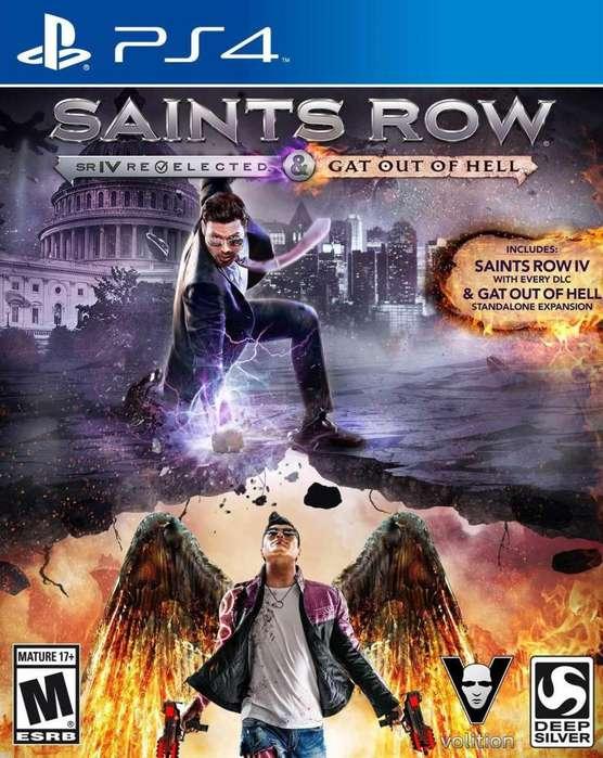 Ps4 Saints Row Nuevo Sellado
