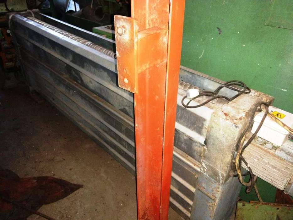ABRIDOR DE TEJIDOS, marca BIANCO de dos cilindros abridores de acero inoxidable ancho útil 2.200 mm