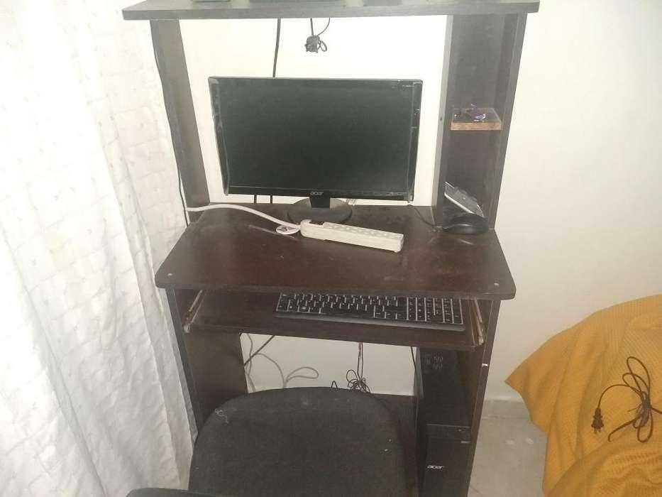 Vendo Computador con Todo Mueble Y Silla