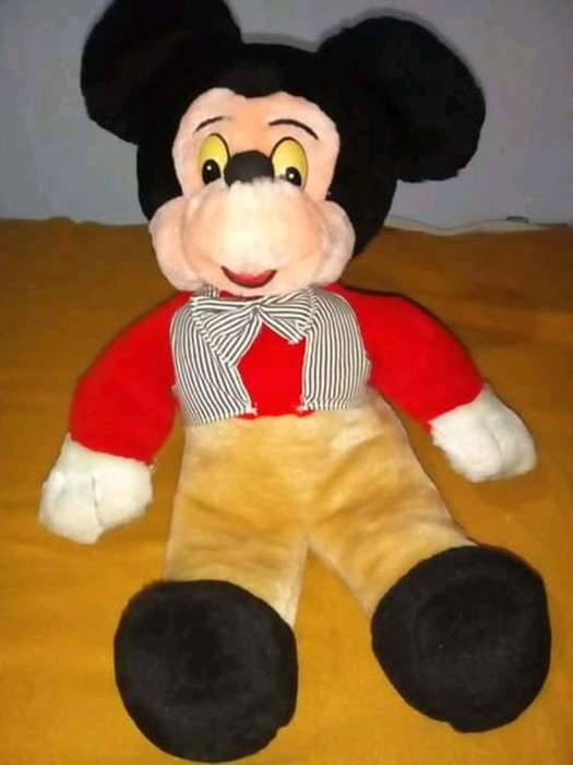 Peluche Mickey Mouse Vintage Antiguo