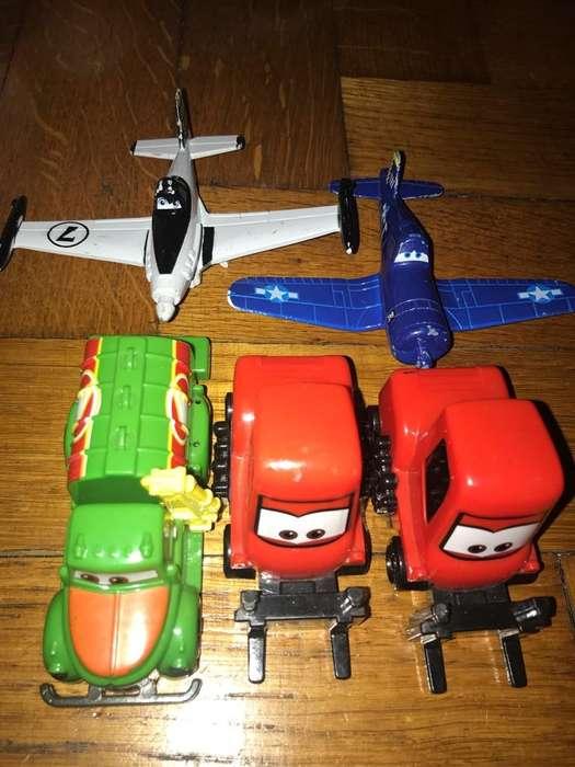 Juguete Cars Aviones