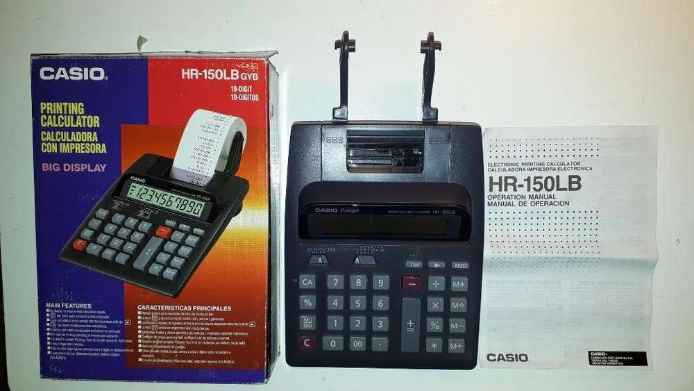 <strong>calculadora</strong> con Impresora Casio