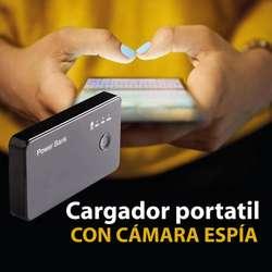 Camara Oculta Con Deteccion De Movimiento Full Hd Power Bank Envio gratis O Domicilio Gratis