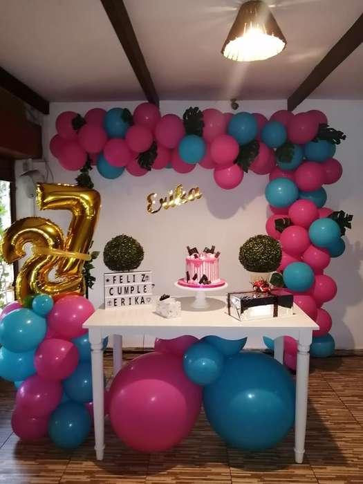 Decoración Cumpleaños Dama