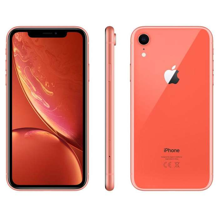 iPhone Xr 64gb / 3gb Ram / 12mp/7mp / 4g Lte / Libre / Coral