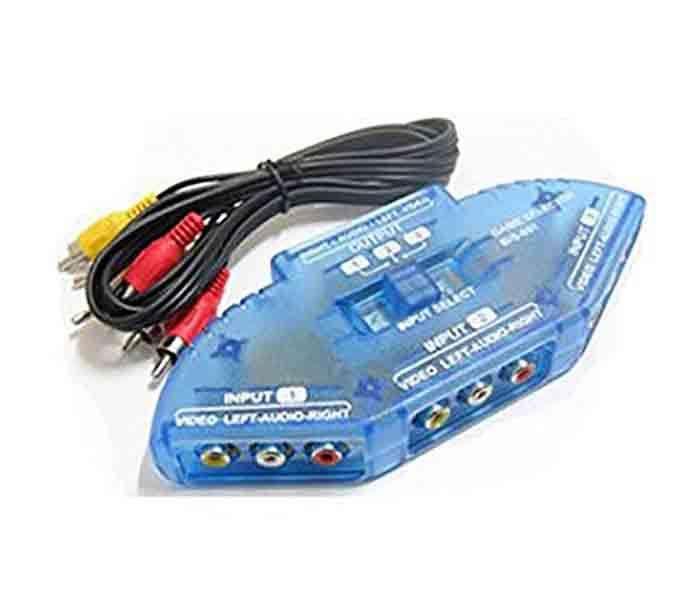 Splitter Audio Video 3rca 4 En 1 Video Y Audio Dexk Isc (1033)